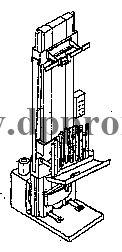 Установка для вертикальной обвалки туш животных ДПП-2013
