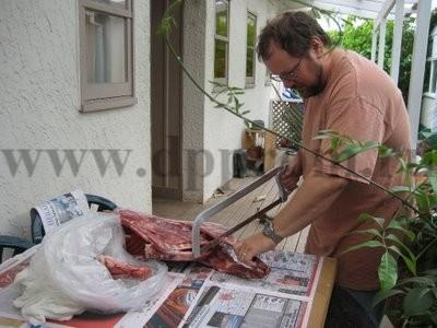 Пила для разделки мяса ручная L - фото 25059