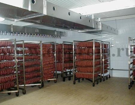 Климатические камеры для сушки, созревания и дозревания сырокопченых и сыровяленых мясных продуктов и колбас