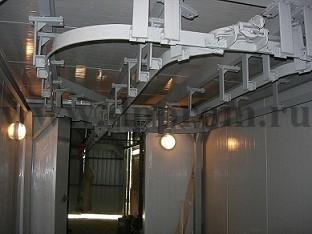 Отвод (поворот на 90 градусов) в комплекте с двумя кронштейнами - фото 27784