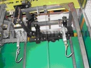 Отвод (поворот на 90 градусов) в комплекте с двумя кронштейнами - фото 27785