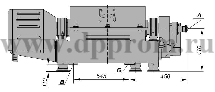 Центрифуга для отделения шквары ДПШ-321K-01