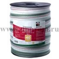Провод для электроизгороди 40х200 лента бело-зеленая