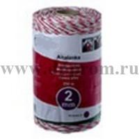 Провод для электроизгороди 2х250 красно-белый