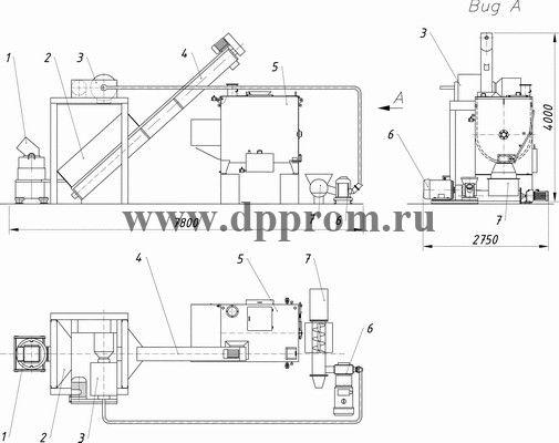 Линия ДПП-16АМ (ДПП-16АМ-01) - фото 29379