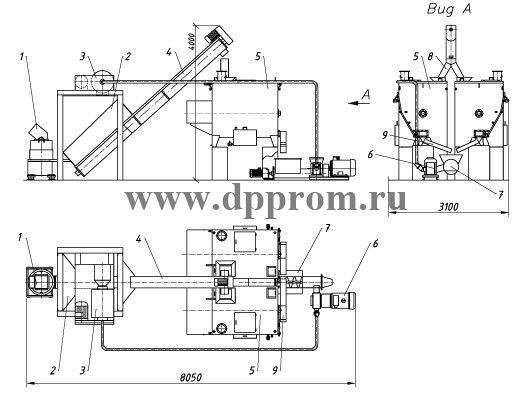 Линия ДПП-16АМ2 (ДПП-16АМ2-01) - фото 29384