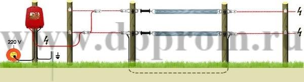 Комплект для содержания КРС ДПП-220-1000М - фото 29443