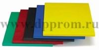 Доска разделочная пластик синяя 60Х40Х2см MVQ 66040CBB