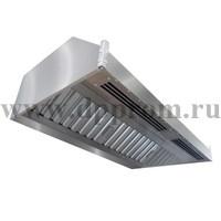 Зонт приточно-вытяжной пристенный ЗППВ-2600х1600х350