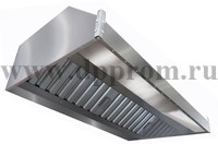 Зонт вытяжной пристенный ITERMA ЗВП-1200х1600х350