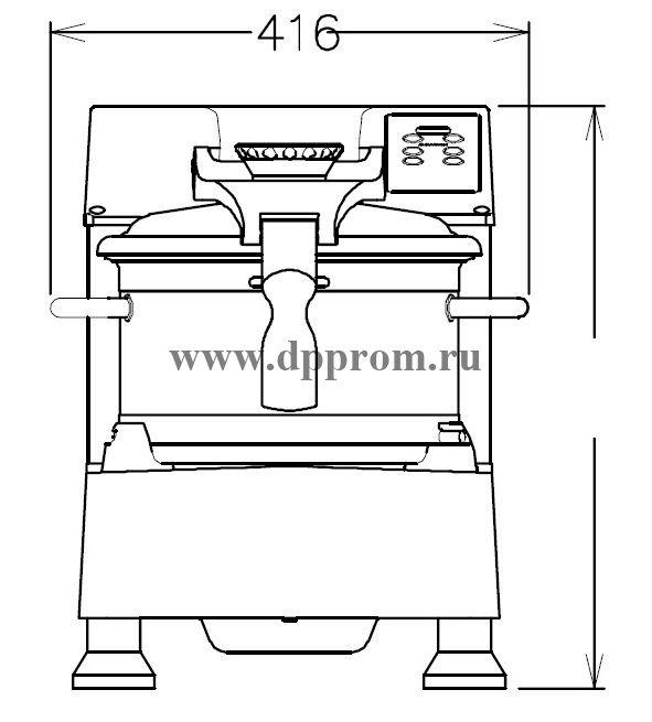 Куттер ELECTROLUX K120F4SR 603296 - фото 31648