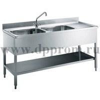 Ванна Моечная ELECTROLUX Двойная LG1225P 132344 - фото 33258