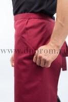 Фартук Двойной 90Х75СМ Красный