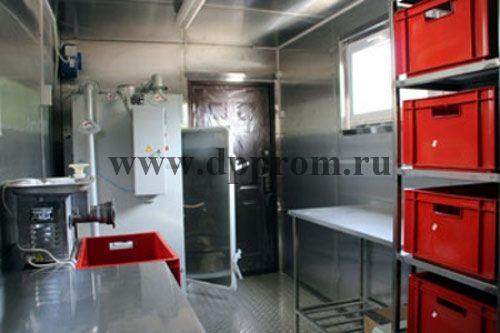 Модульный цех для переработки мяса ДПП-200 - фото 38152