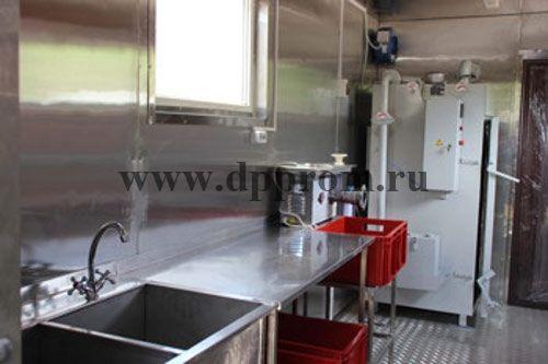 Модульный цех для переработки мяса ДПП-200 - фото 38153