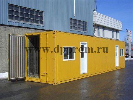Модульный магазин контейнерного типа ДПП-МК - фото 38199