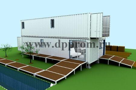Модульный магазин контейнерного типа ДПП-МК - фото 38201