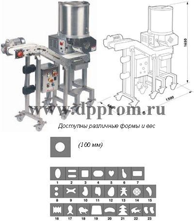 Котлетоформовочные аппараты F2000/3000, F4000, HD3000 - фото 38511