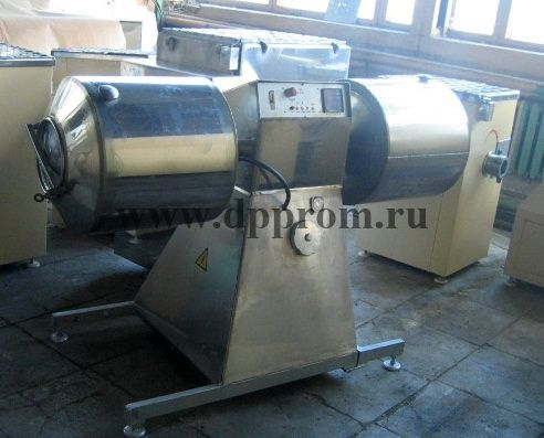 Мясомассажер ДПП-100 (двухемкостной)