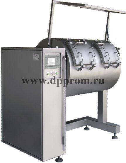 Многокамерный вакуумный массажер для мяса Investpol MK 2x300