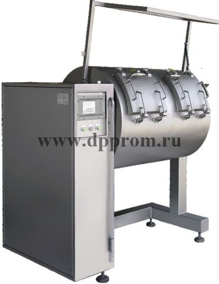 Многокамерный вакуумный массажер для мяса Investpol MK 3x300