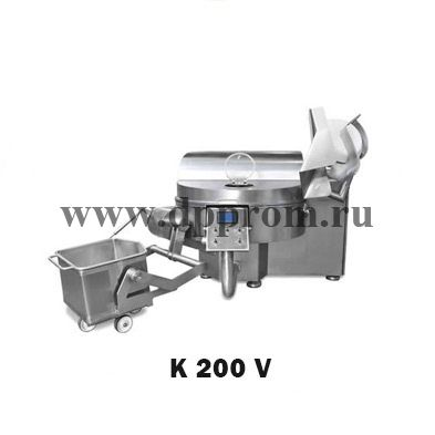 Куттер K 200 V - фото 39196