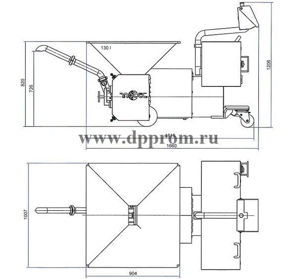 Эмульситатор INOTEC l175CD-75D - фото 39803