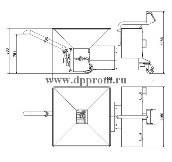 Эмульситатор INOTEC l175CD-90D - фото 39808