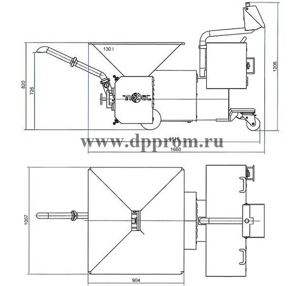 Эмульситатор INOTEC L140CD-D - фото 39812