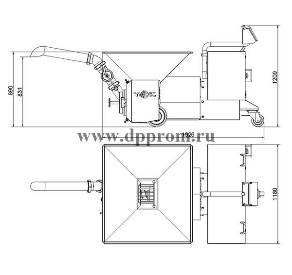 Эмульситатор INOTEC l225CD-110D - фото 39833