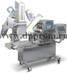 Аппарат для изготовления двухкамерных пельменей и вареников СД-2-600 - фото 40591