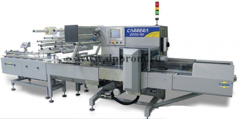 Горизонтальная упаковочная машина ILAPAK Carrera 2000M Flow-Pack (флоупак)