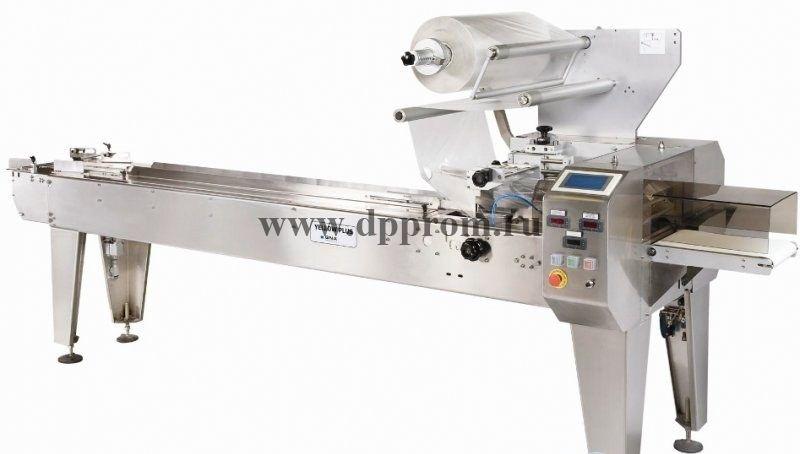 Горизонтальная упаковочная машина GNA YELLOW PLUS Flow-Pack (флоупак) - фото 41393