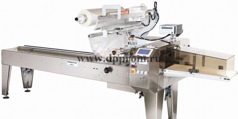 Горизонтальная упаковочная машина GNA ORANGE PLUS Flow-Pack (флоупак)