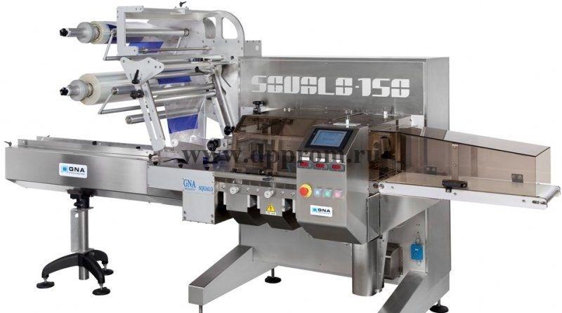 Горизонтальная упаковочная машина GNA SQUALO Flow-Pack (флоупак)