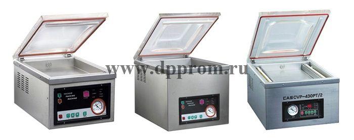 Вакуумный упаковщик IVP-430PT/2 с опцией газонаполнения