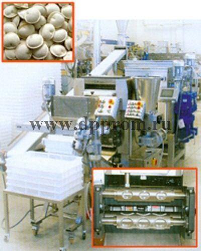 Линия для производства пельменей из двух листов RSA 250 - фото 42055