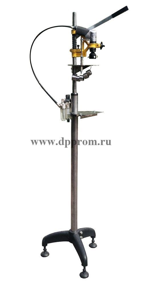 Пробочный укупор пневматический марки ПУ-800 (ПЭТ) напольный