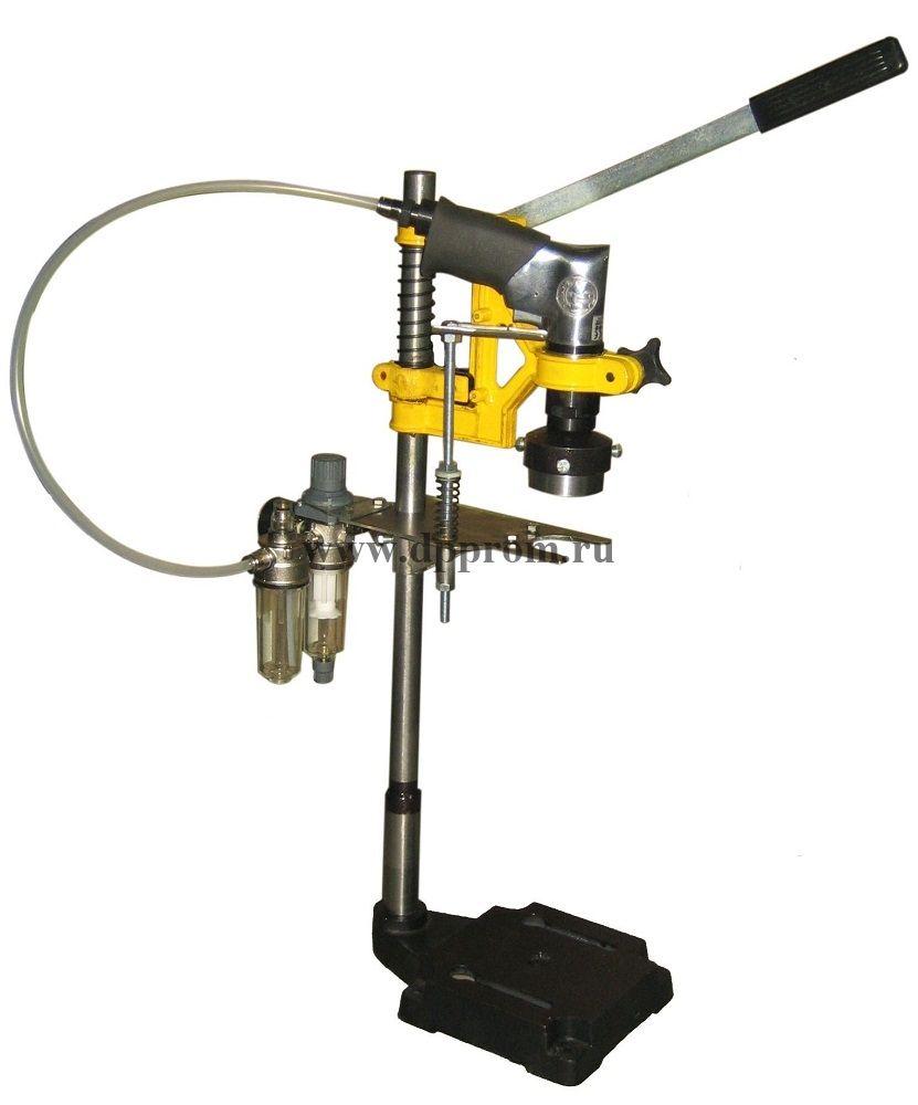 Пробочный укупор пневматический марки ПУ-800 (ПЭТ) настольный