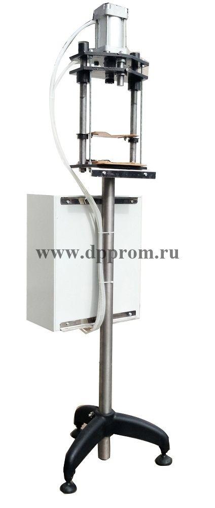 Пробочный укупор пневматический марки ПУ 1500 пр./час (Стекло, кронен пробка или ПЭТ под масло, хлопушка)