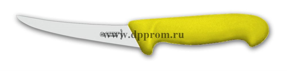 Нож обвалочный 2535 15 см, очень гибкий желтый