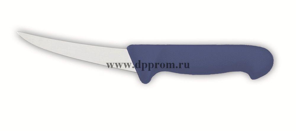 Нож обвалочный 2515 17 см, жёсткий синий