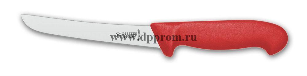 Нож обвалочный 2605 18 см красный