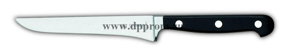 Нож обвалочный 8263 16 см, черный