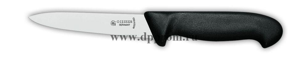 Нож разделочные 3305 18 см, жесткий черный