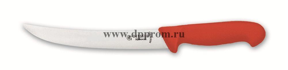 Нож разделочный 2005 22 см красный