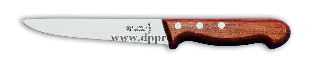 Нож разделочный 3000 13 см с деревянной ручкой