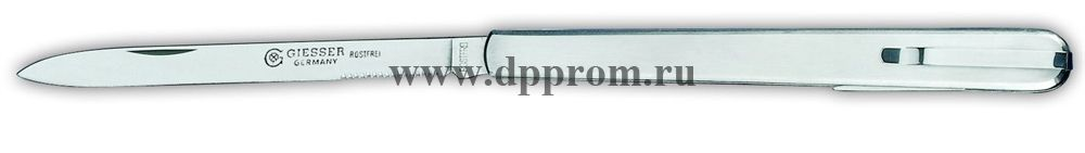 Нож технолога с вилкой и клипсой 7984 металлический