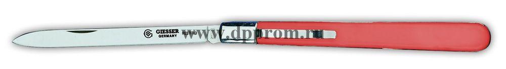 Нож технолога с вилкой и клипсой 7981сsp красный