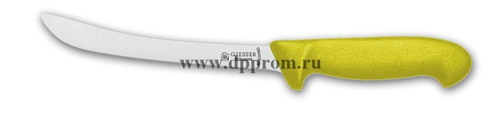 Нож филейный 2275 21 см желтый